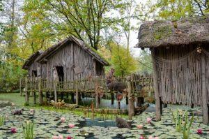 Fisherman, Hut, Village, Man, Swamp
